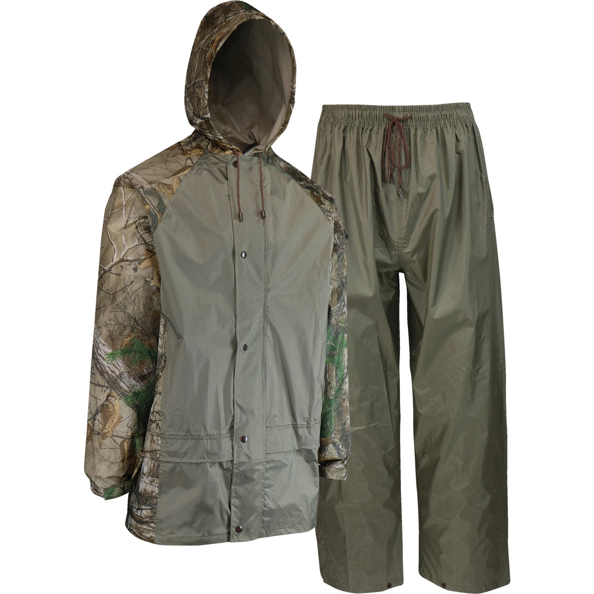 2X 2PC CAMO RAIN SUIT - R1802X by Custom Leathercraft