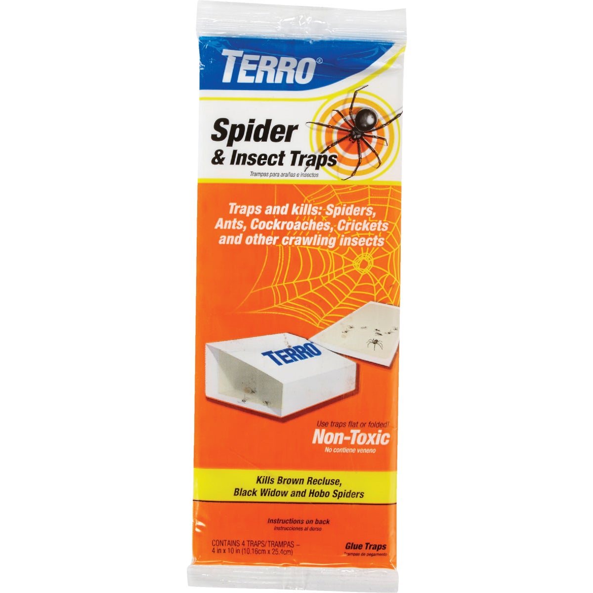 4PK TERRO SPIDER TRAP - T3200 by Woodstream Corp