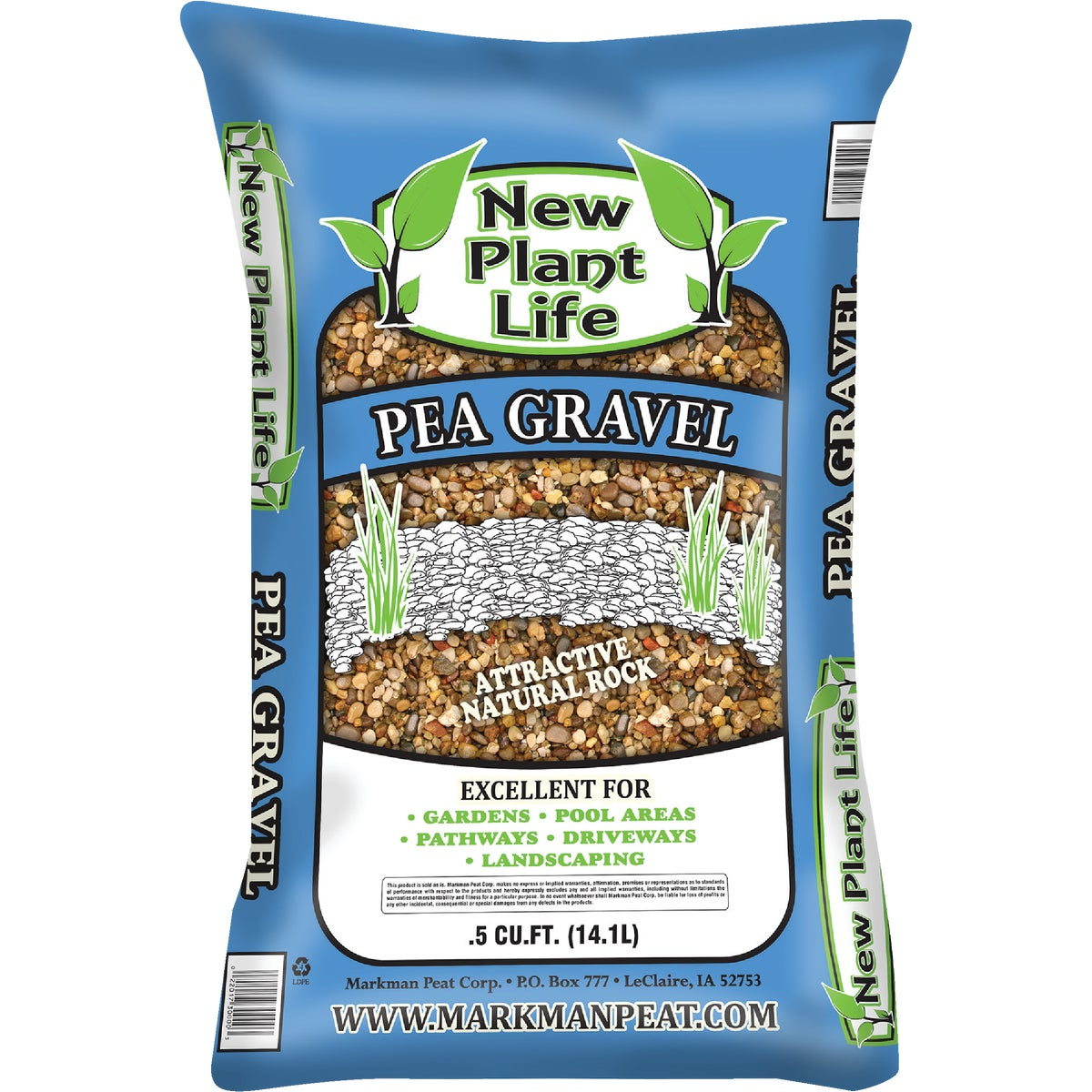 .5 CUFT PEA GRAVEL - 380 by Markman Peat Corp