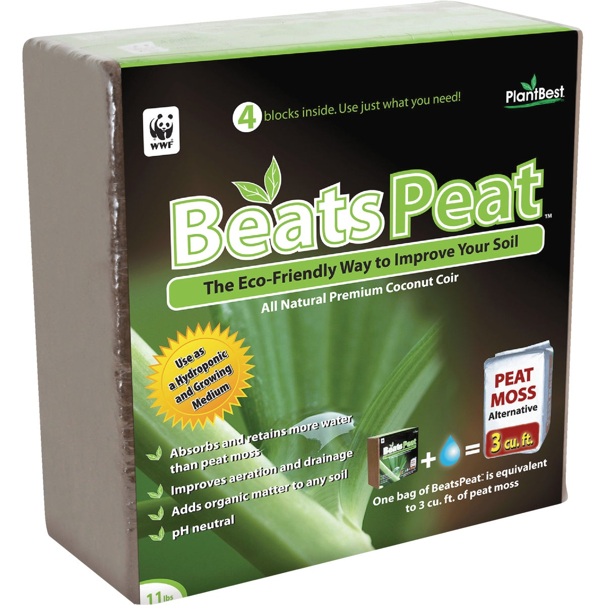 3 CU FT BEATS PEAT