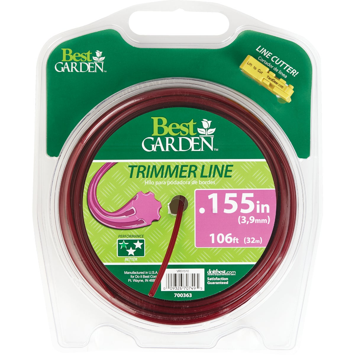 .155 106' TRIMMER LINE - 16258 by Shakespeare Mono