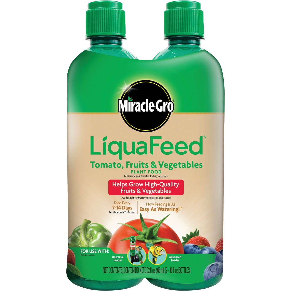 2PK LIQUAFEED  FRUIT&VEG - 100440 by Scotts Company