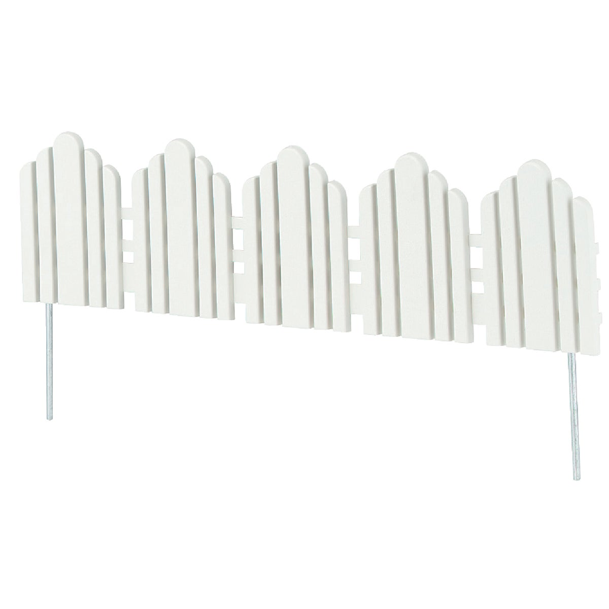 "22"" WHITE FENCE BORDER - 861 by Easy Gardener Inc"