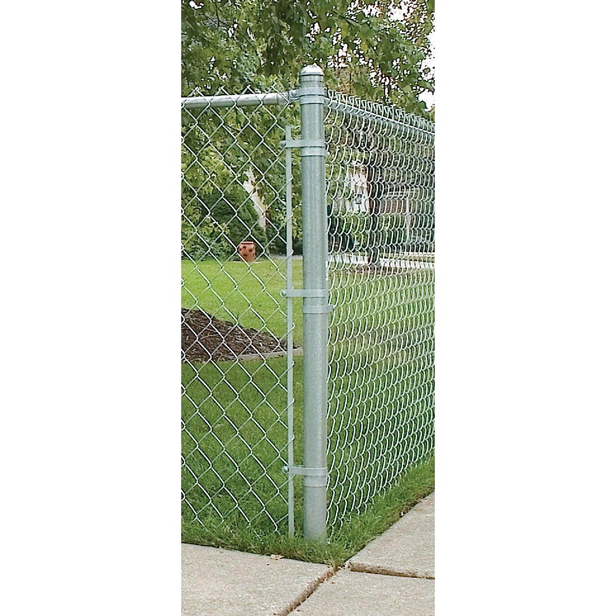 "1-5/8""X6' LINE POST - 328921DPT by Midwest Air Tech"