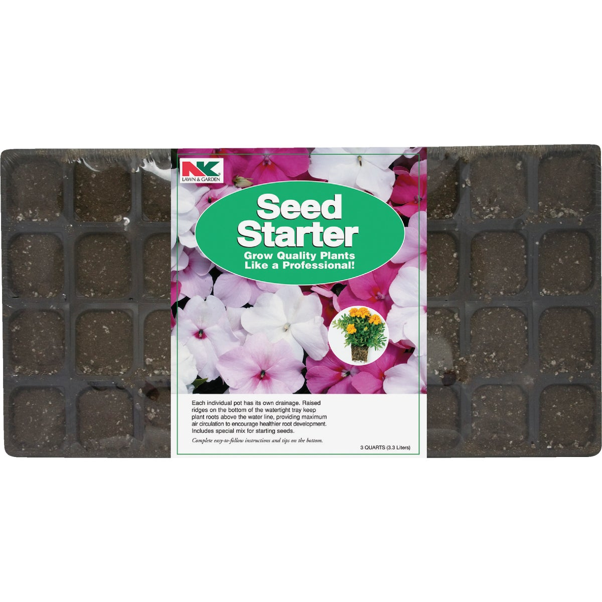 SEED STARTING KIT - P36S by Plantation Products
