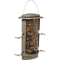 Squirrel X1 Elliptical Tube Bird Feeder, 11