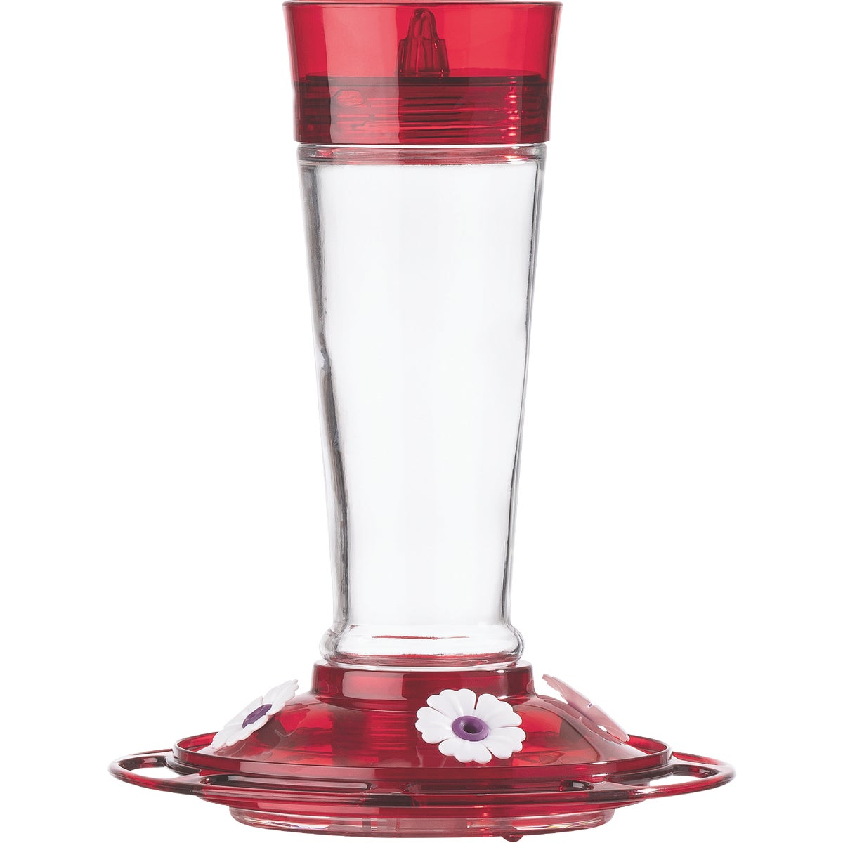 RUBY HUMMINGBIRD FEEDER