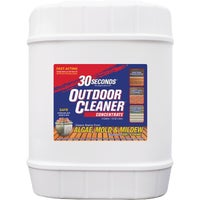 30 seconds Outdoor Cleaner Algae, Mold & Mildew Stain Remover, 5G30S