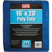 Do it Best GS Tarps 16X20 BLUE MED DUTY TARP 700517