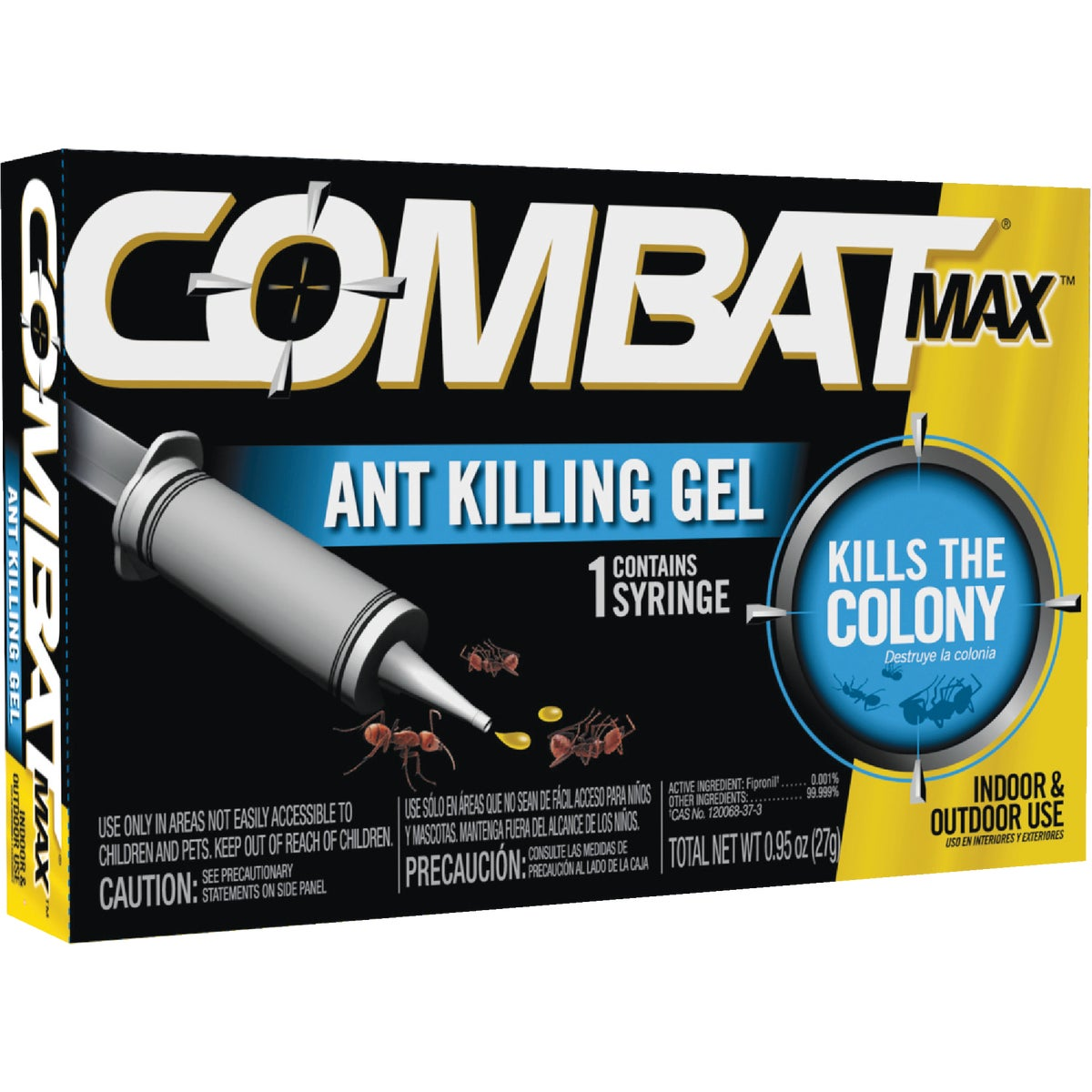.95OZ COMBAT ANT KIL GEL - 97306 by Lagassesweet  Incom