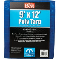 9X12 Blue Med Duty Tarp