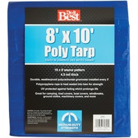 Do it Best GS Tarps 8X10 BLUE MED DUTY TARP 700541