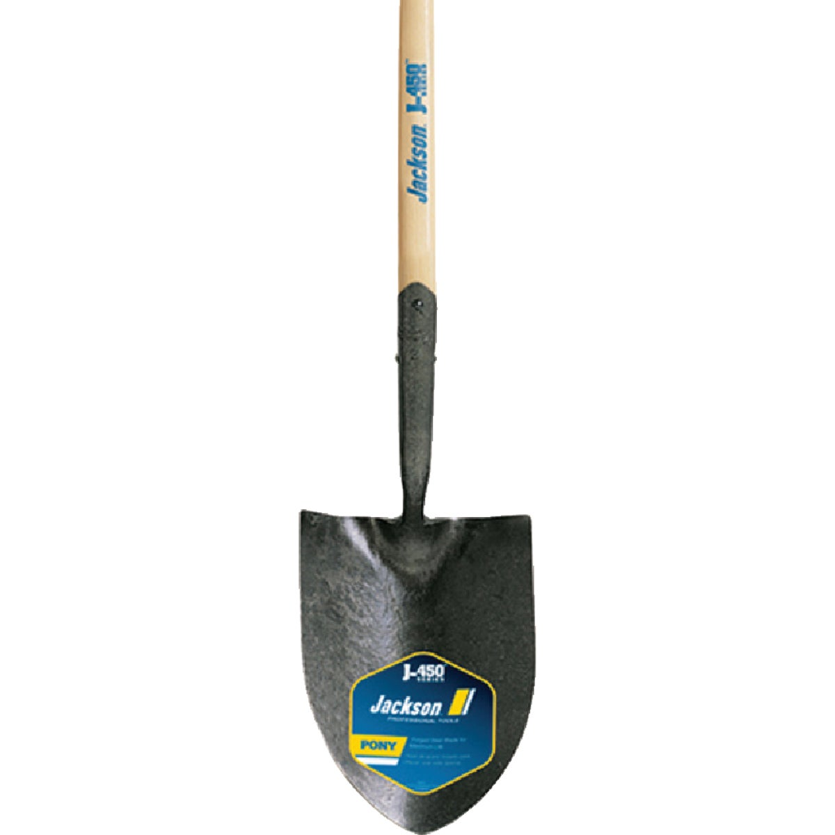 LONG HDL RD PT SHOVEL