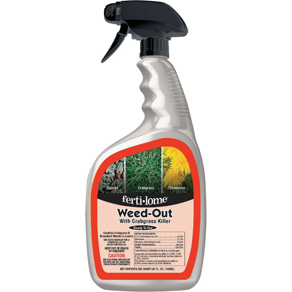 WEED OUT WITH Q RTU - 10036 by Vpg Fertilome