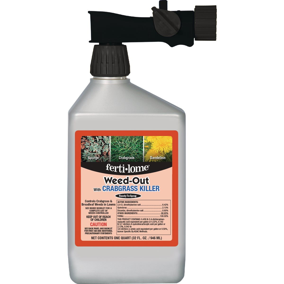 32OZ RTS WEED OUT WITH Q - 10031 by Vpg Fertilome
