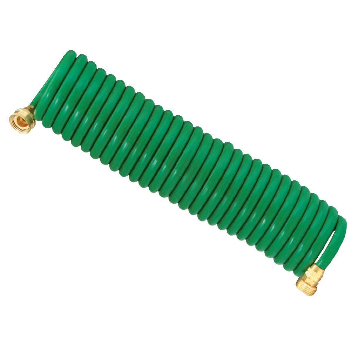 25' GREEN COIL HOSE