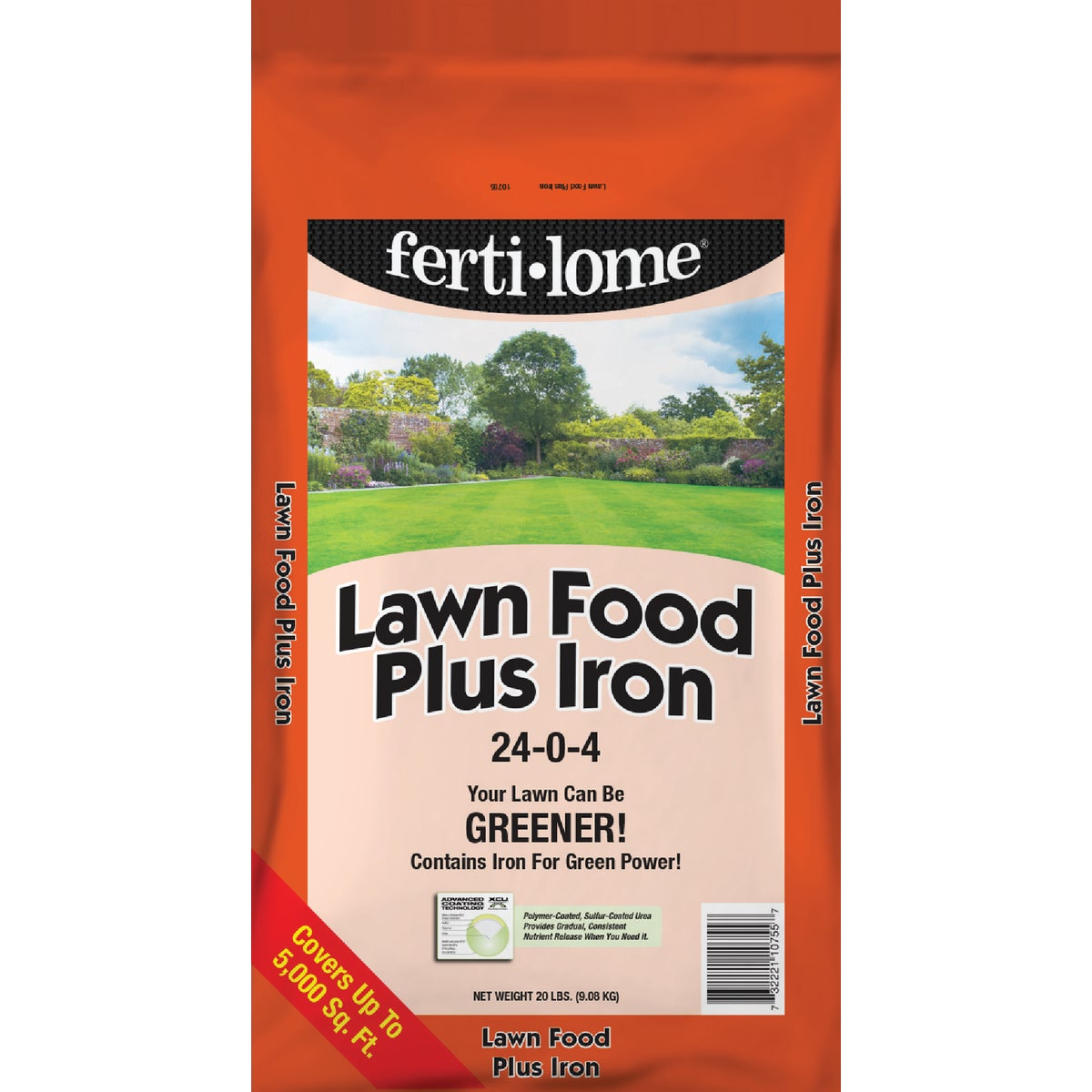 20LB LAWN FOOD PLUS IRON - 10755 by Vpg Fertilome