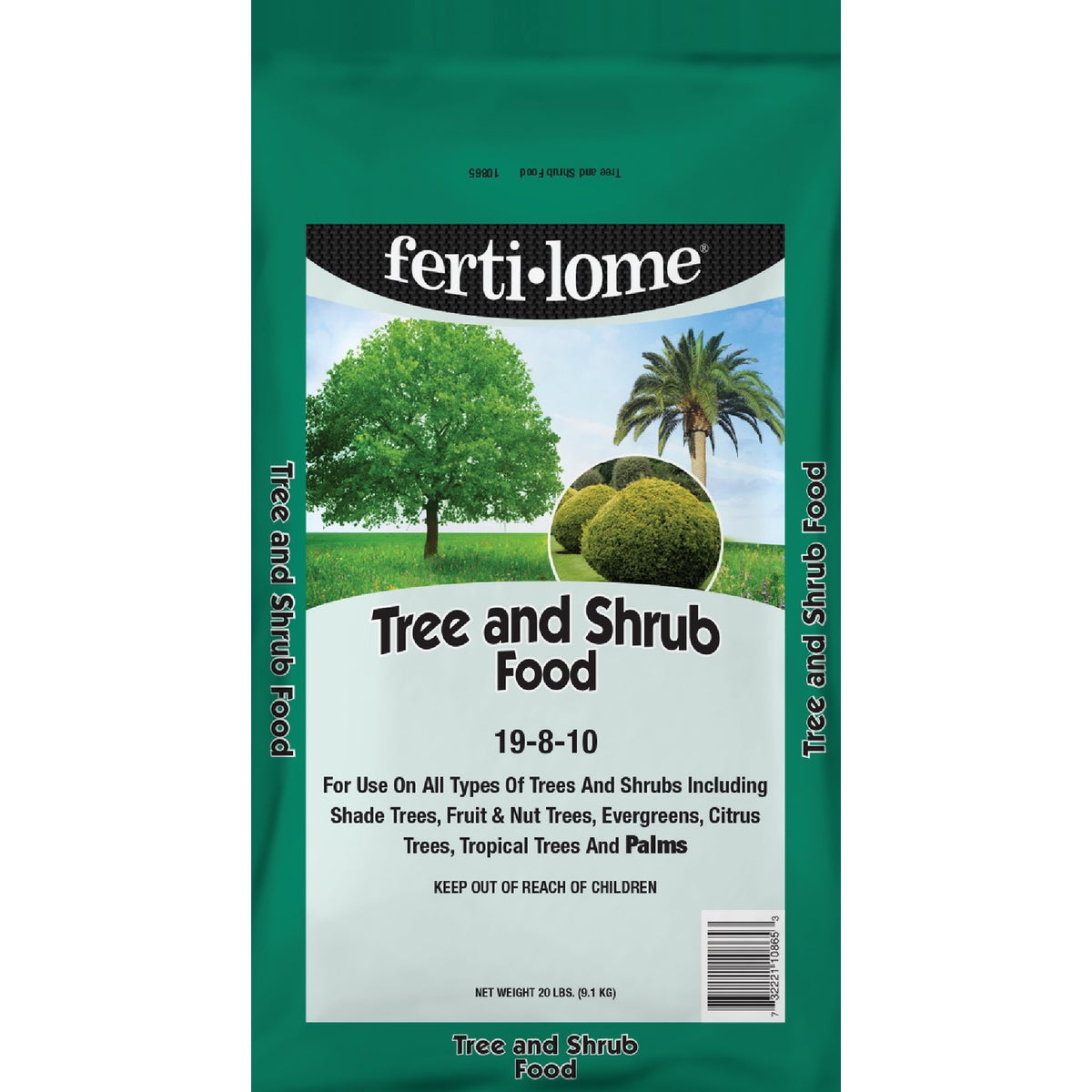 20LB TREE & SHRUB FOOD - 10865 by Vpg Fertilome