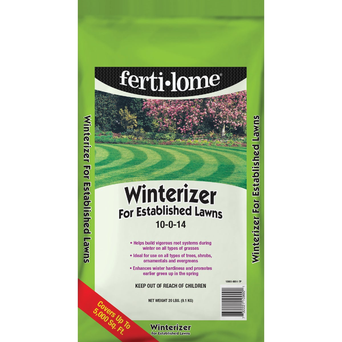 20LB LAWN WINTERIZER SOU - 10900 by Vpg Fertilome