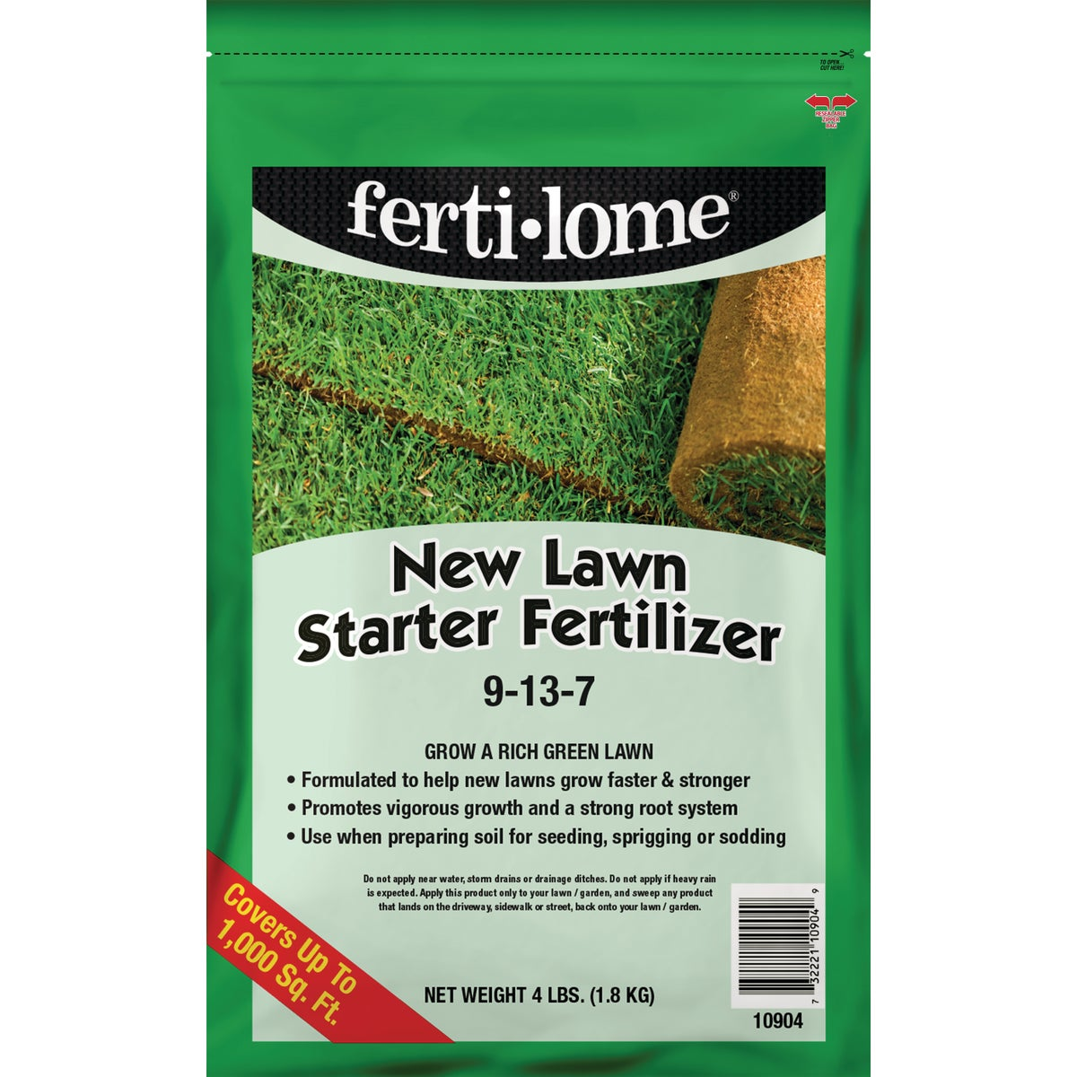 4LB NEW LAWN STARTER - 10904 by Vpg Fertilome
