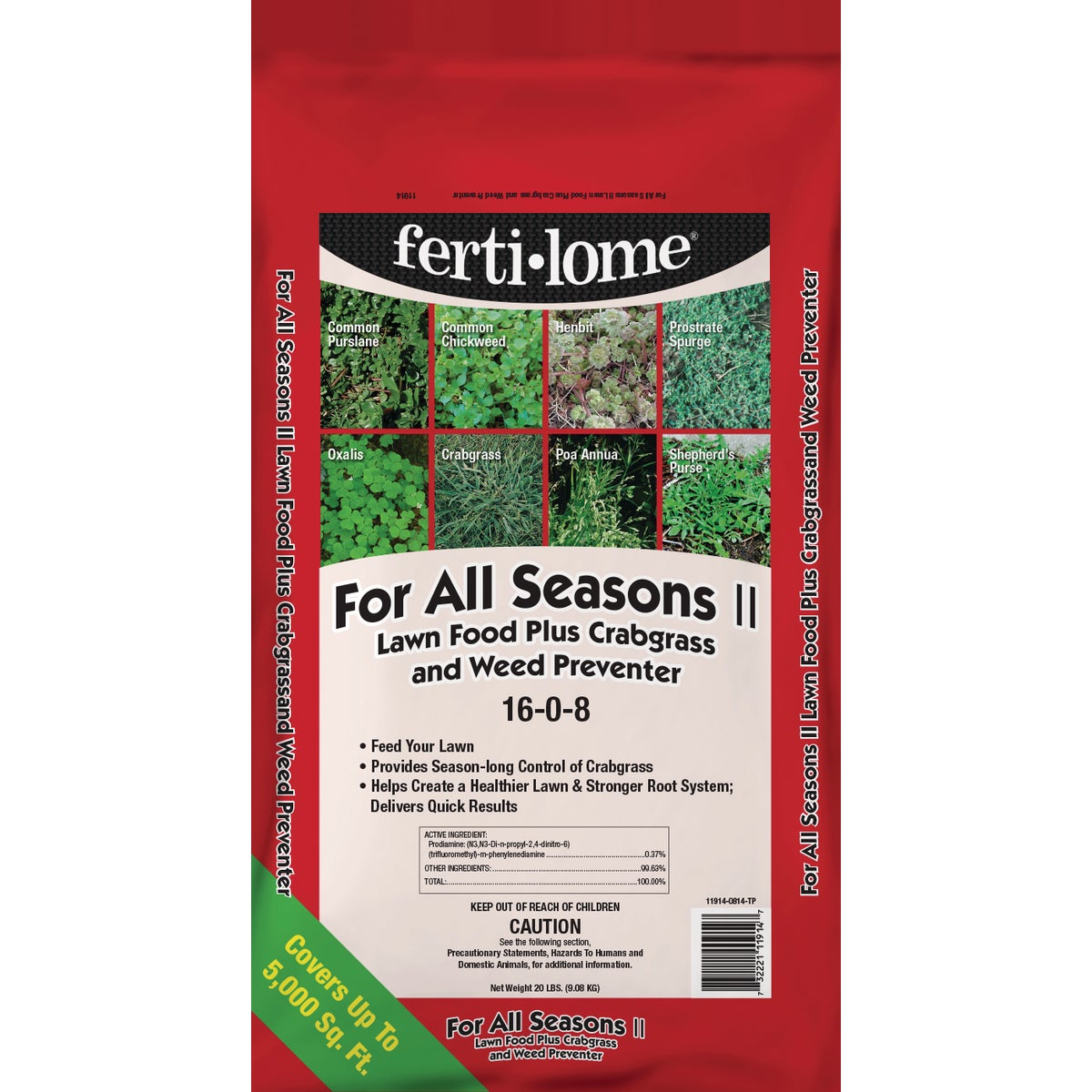 20LB ALL SEAS LAWN FOOD+ - 11914 by Vpg Fertilome