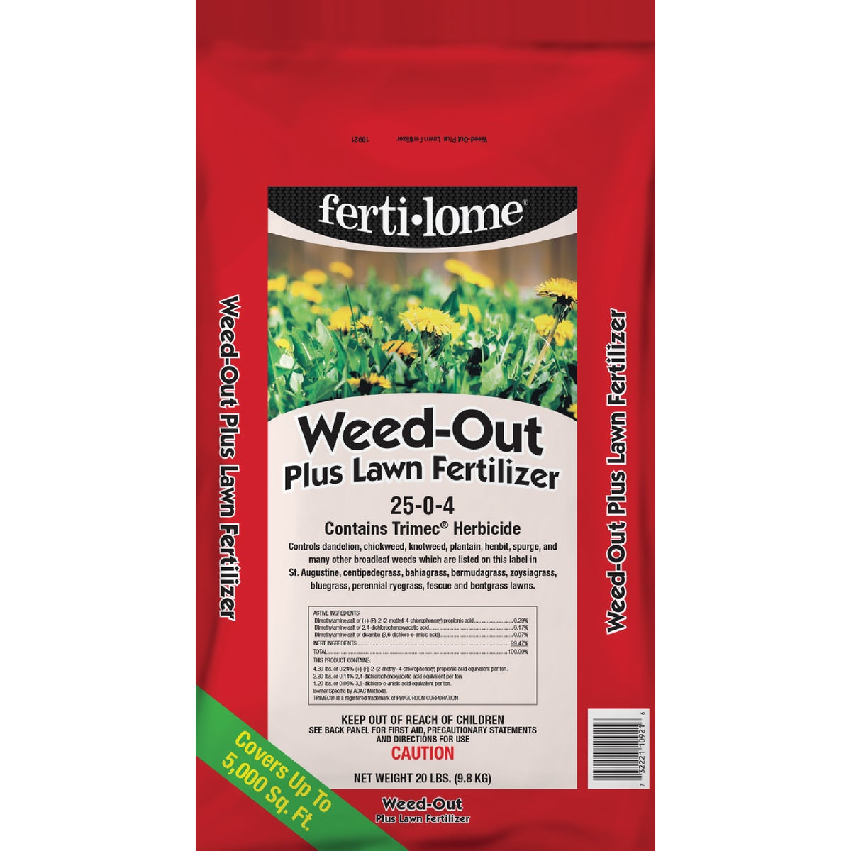 20LB LWN FERT/WEED-OUT - 10921 by Vpg Fertilome