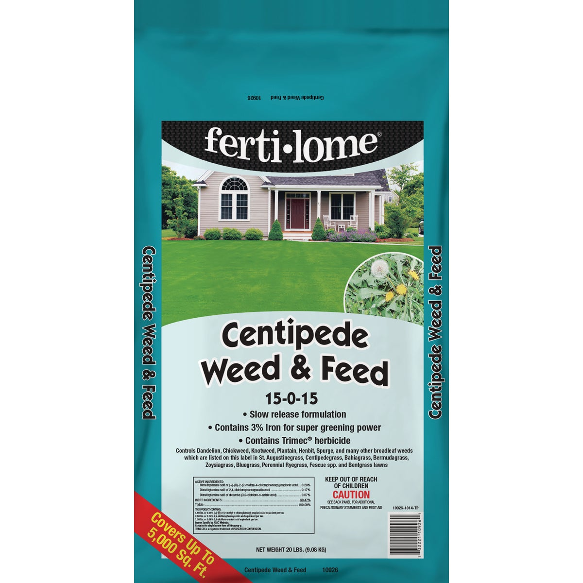 20LB CENT WEED & FEED - 10926 by Vpg Fertilome