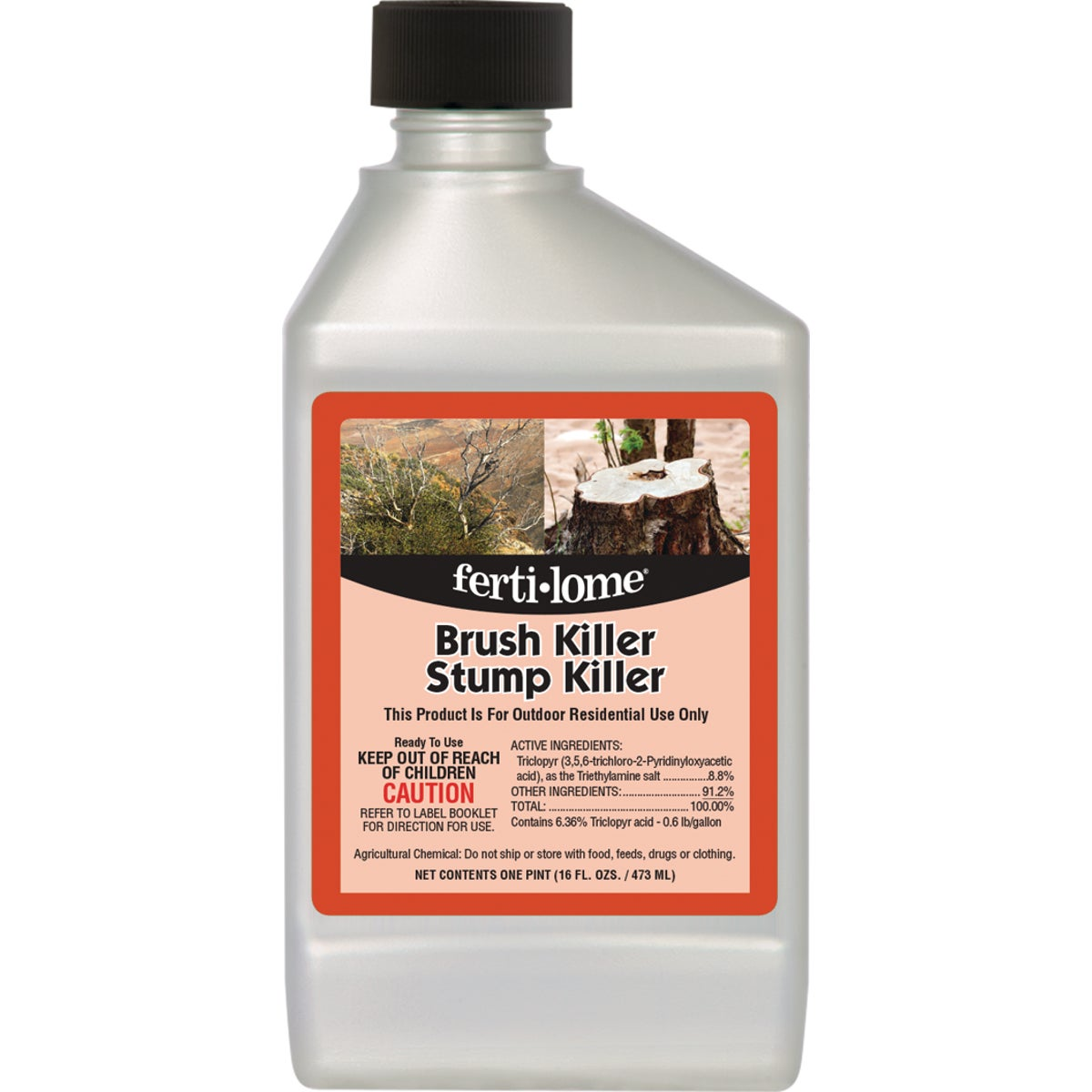 16OZ BRUSH&STUMP KILLER - 11484 by Vpg Fertilome
