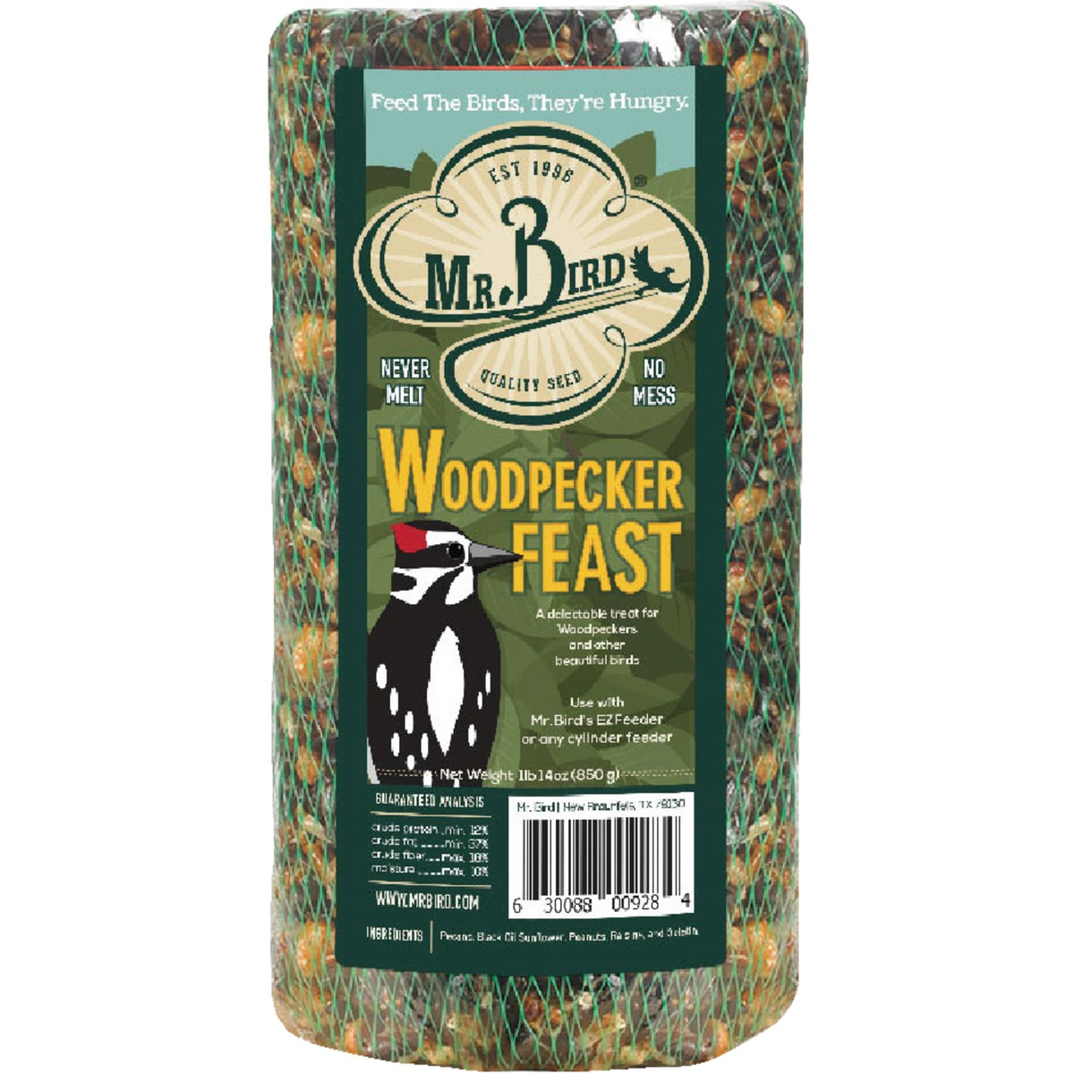 40OZ WOODPECKER SEED LOG