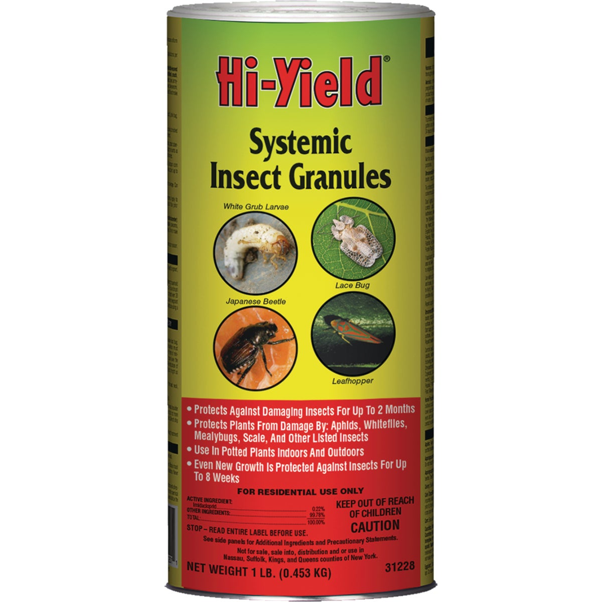 1LB SYSTEMIC GRAN INSECT - 31228 by Vpg Fertilome