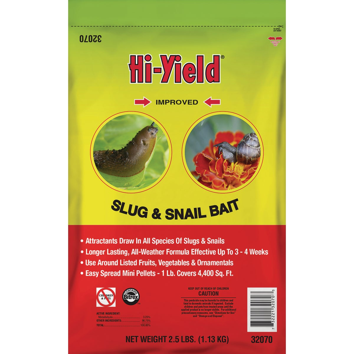 .5LB SLUB & SNAIL BAIT - 32070 by Vpg Fertilome