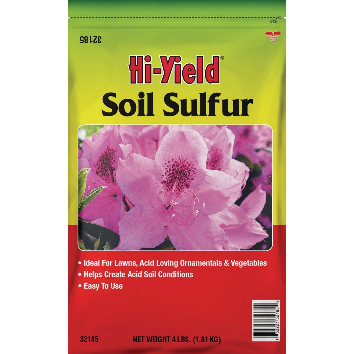 4LB SOIL SULPHUR - 32185 by Vpg Fertilome