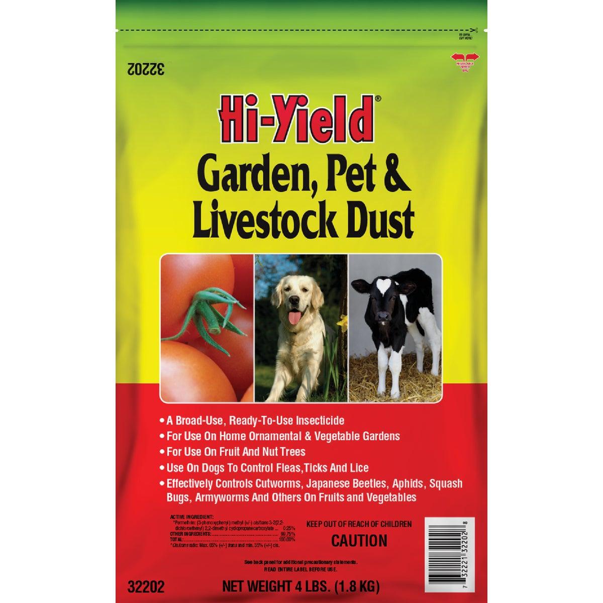 4LB GRD PET & LVSTK DUST - 32202 by Vpg Fertilome