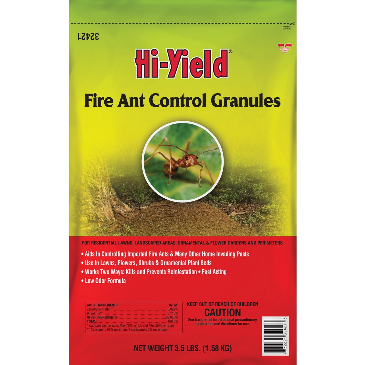 5LB FIRE ANT CTRL GRAN - 32222 by Vpg Fertilome