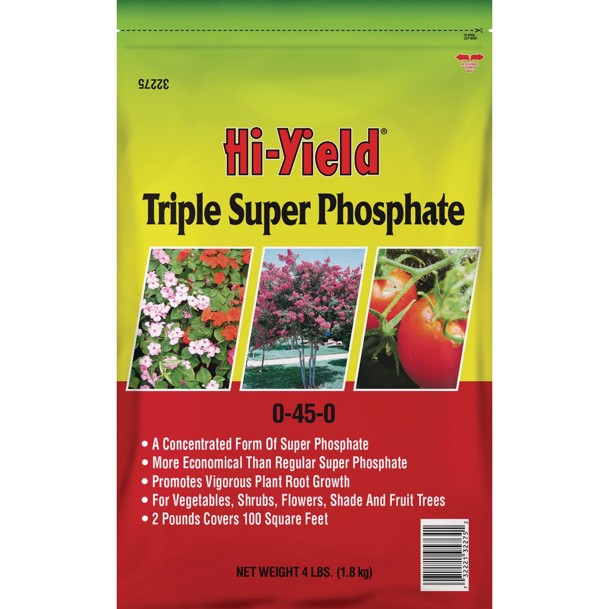 4LB TRIPLE SPR PHOSPHATE - 32275 by Vpg Fertilome