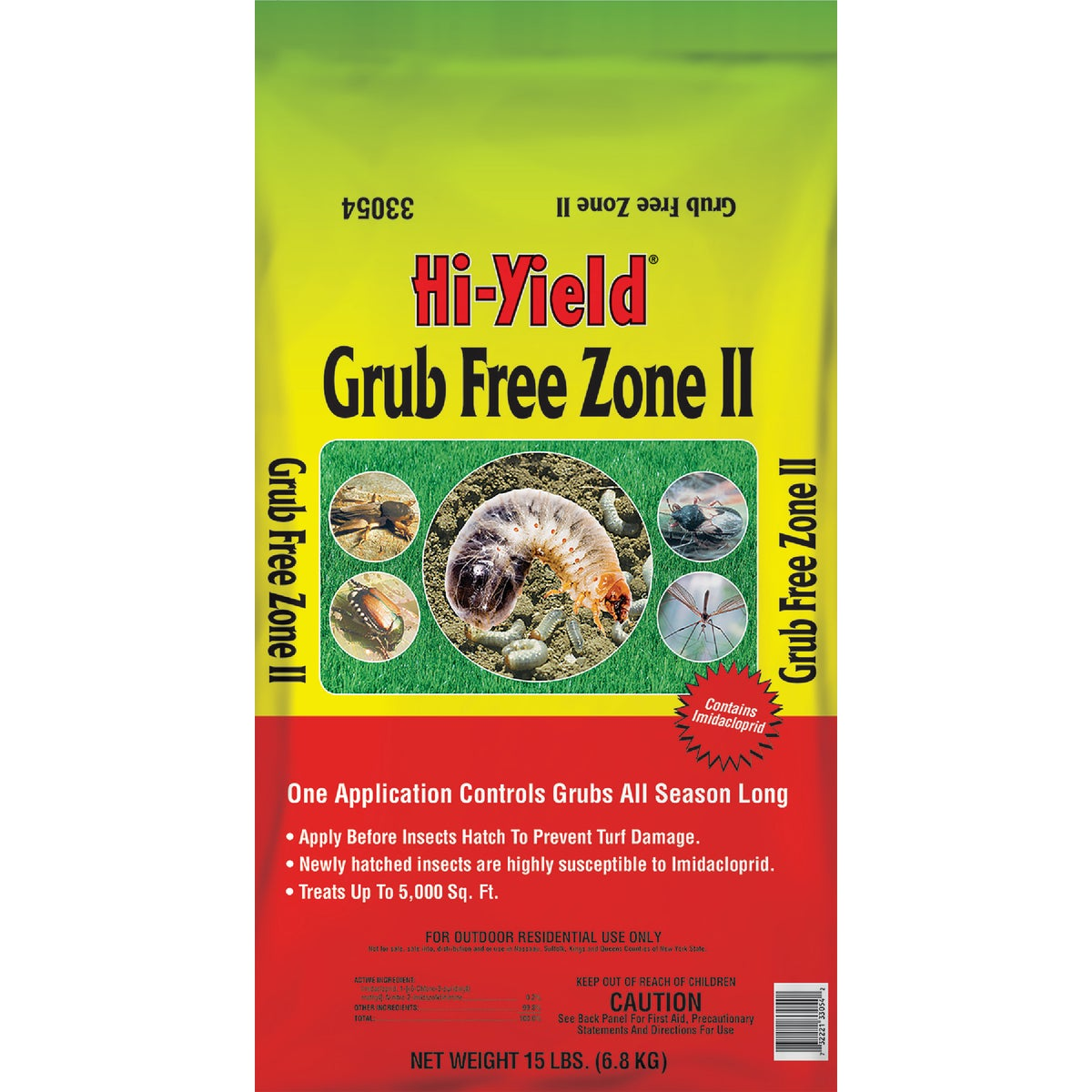 15LB GRUB FREE ZONE II - 33054 by Vpg Fertilome