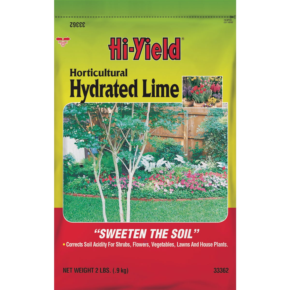2LB HORT HYDRATED LIME - 33362 by Vpg Fertilome