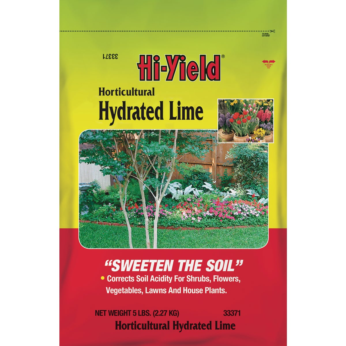 5LB HORT HYDRATED LIME - 33371 by Vpg Fertilome