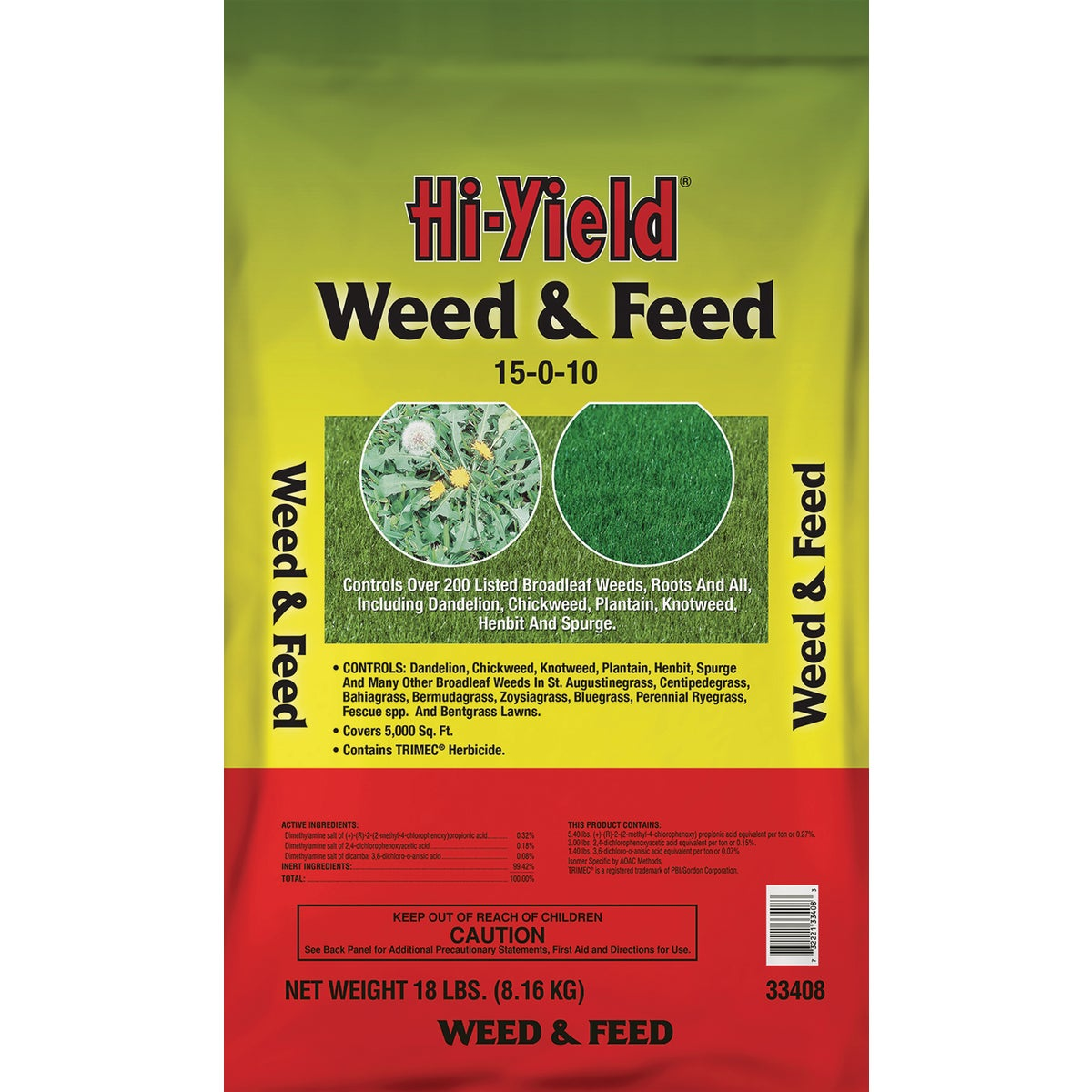 18LB WEED & FEED - 33408 by Vpg Fertilome
