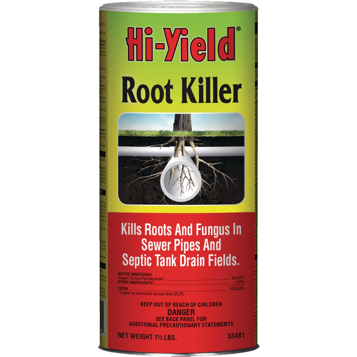 1.5LB ROOT KILLER - 33481 by Vpg Fertilome