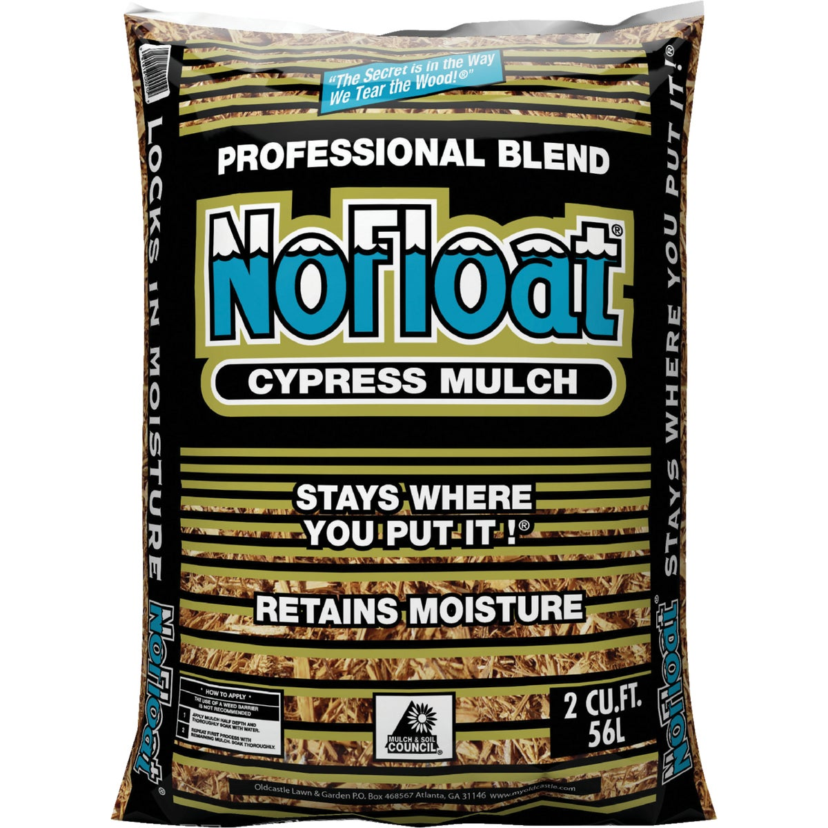 2 CU FT CYPRESS MULCH - 52050045 by Old Castle Retail