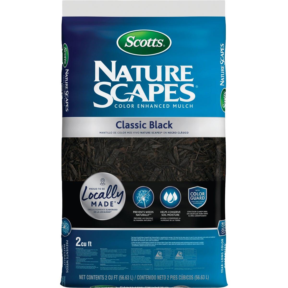 2CF N.SCAPES BLACK MULCH - 88552410 by Scotts Organics