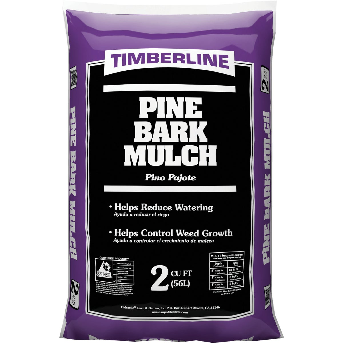 2 CU FT PINE MULCH - 52058067 by Old Castle Retail