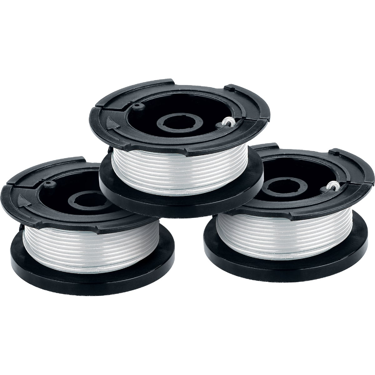 3 PACK TRIMMER SPOOLS - AF-100-3ZP by Black & Decker