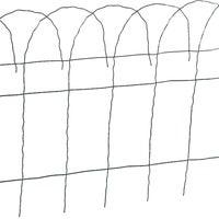 Best Garden Flower Bed Decorative Border Fence, 700789