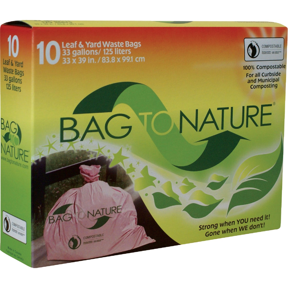 33GAL LEAF AND YARD BAG - BTN3339R by Indaco Manufacturing