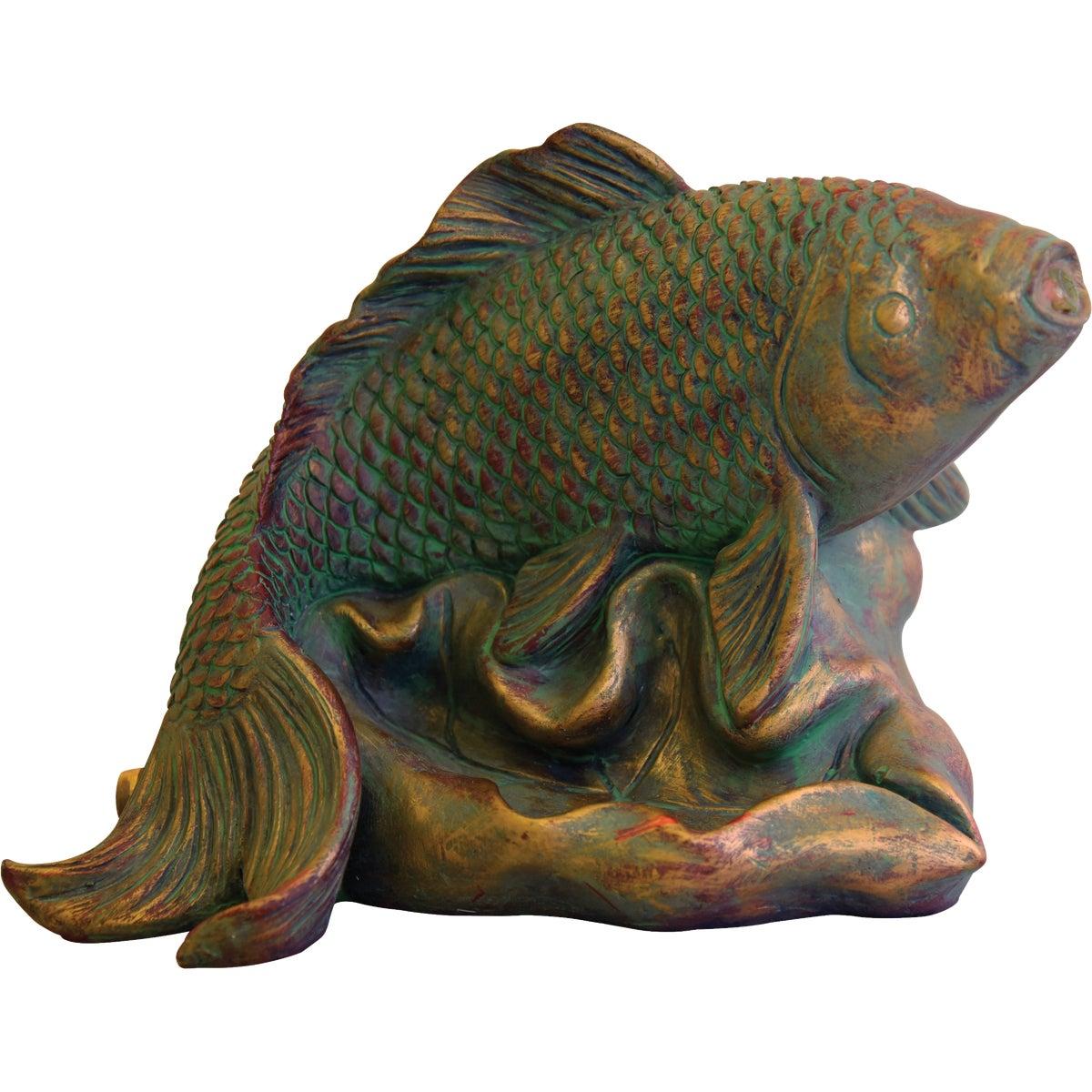 RESIN FISH SPITTER