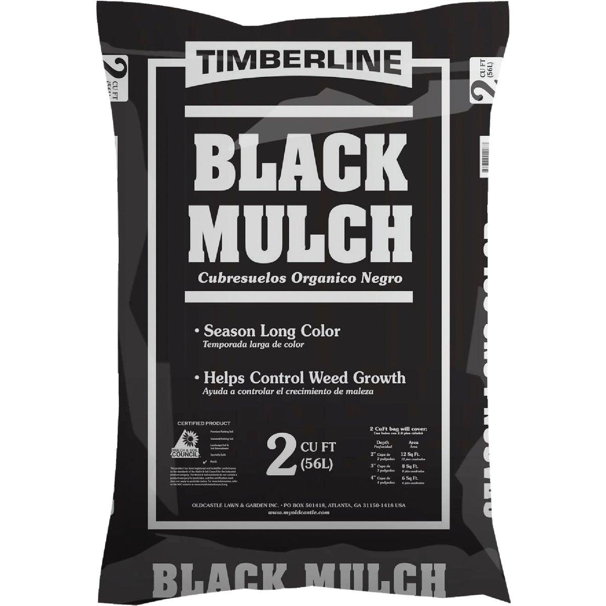 2CF BLACK SHREDDED MULCH - 52058058 by Old Castle Retail