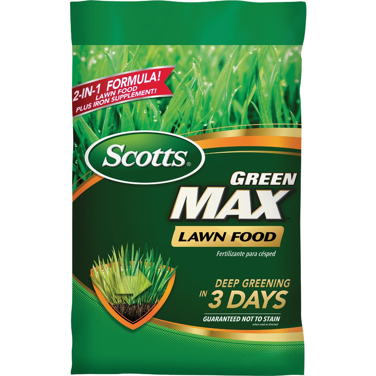 The Scotts Co. 5M GREEN MAX FERTILIZER 45100