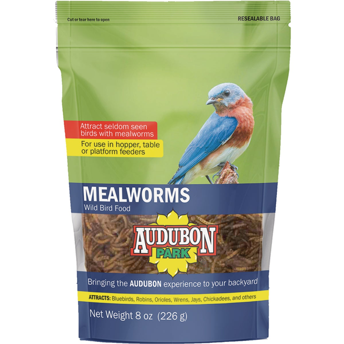 7 OZ MEALWORMS - 38097 by Hiatt Manufacturing